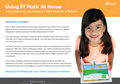 Did you know that your student can login to ST Math from home?  image