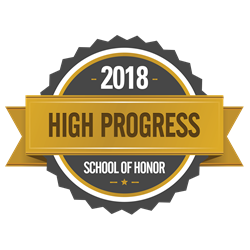 2018 High Progress School of Honor Logo