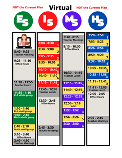 Virtual Daily Schedule