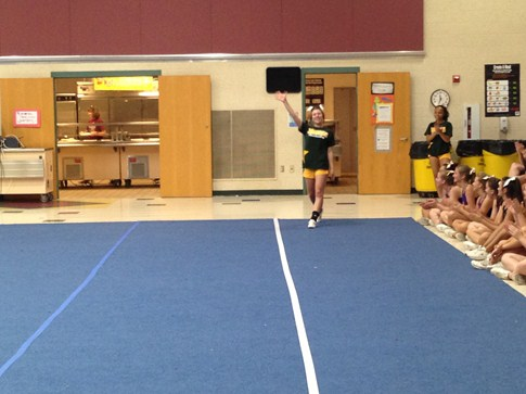 NCA Camp - Sammy @ All-American Try-Outs