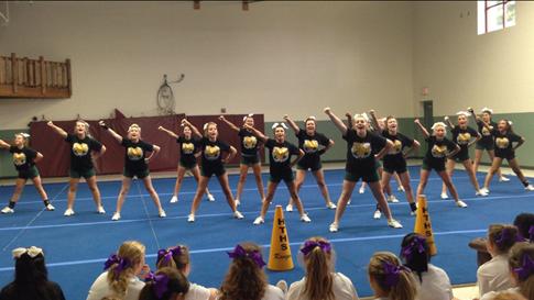NCA Camp - Varsity Cheer