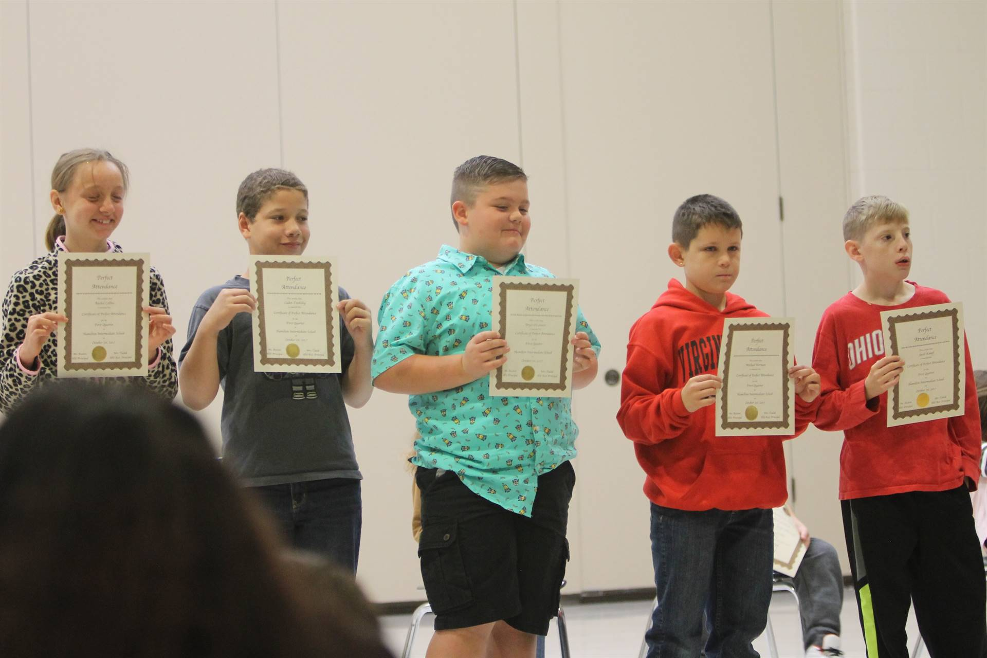 5th Grade Honors Assemlby