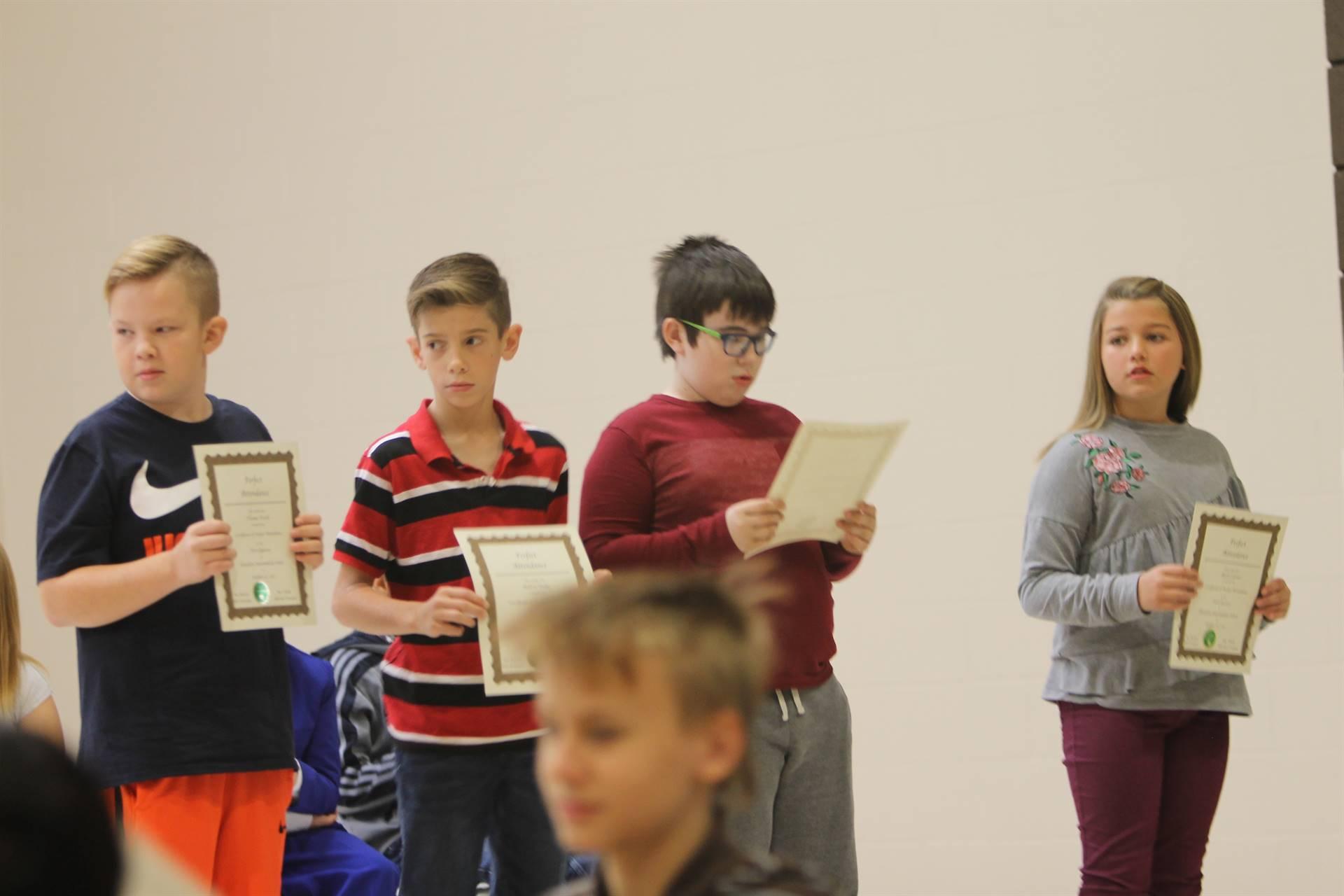 6th Grade Assembly