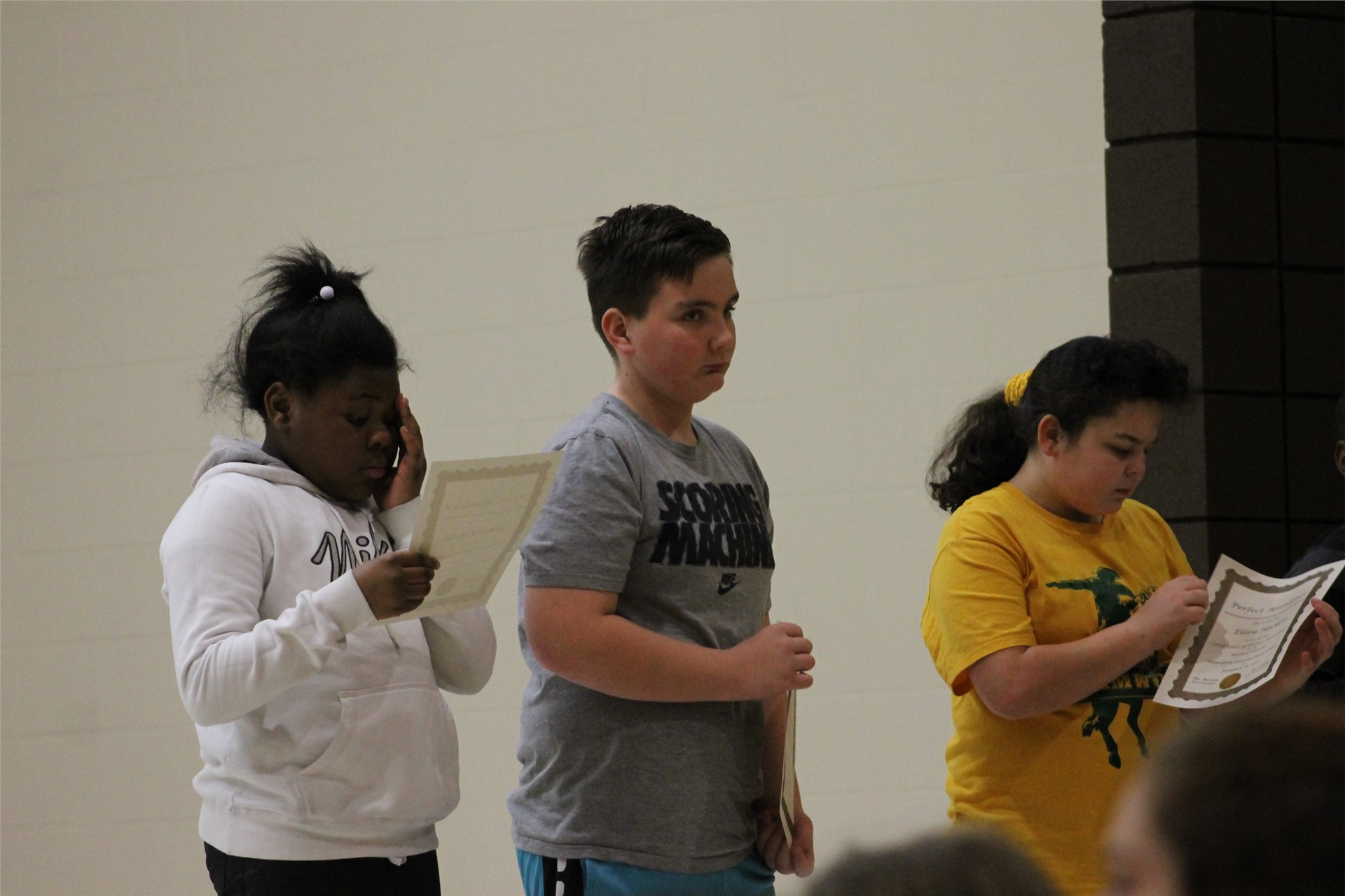 4th grade Honors Assembly
