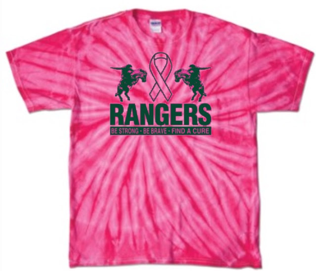 2017 Rangers for the Cure Shirt