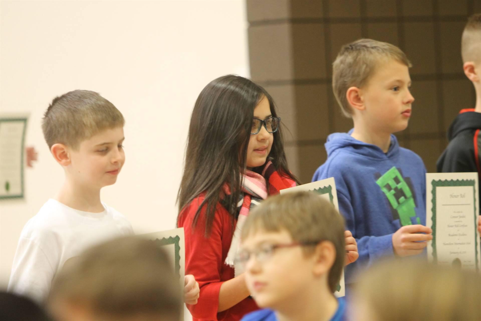4th grade assembly