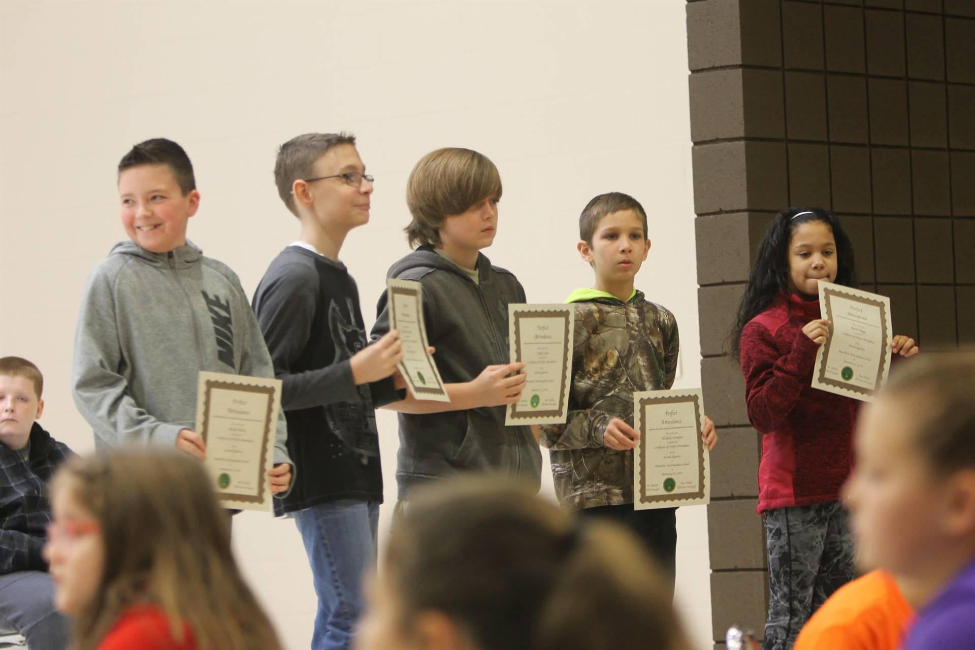 5th grade Honors Assembly