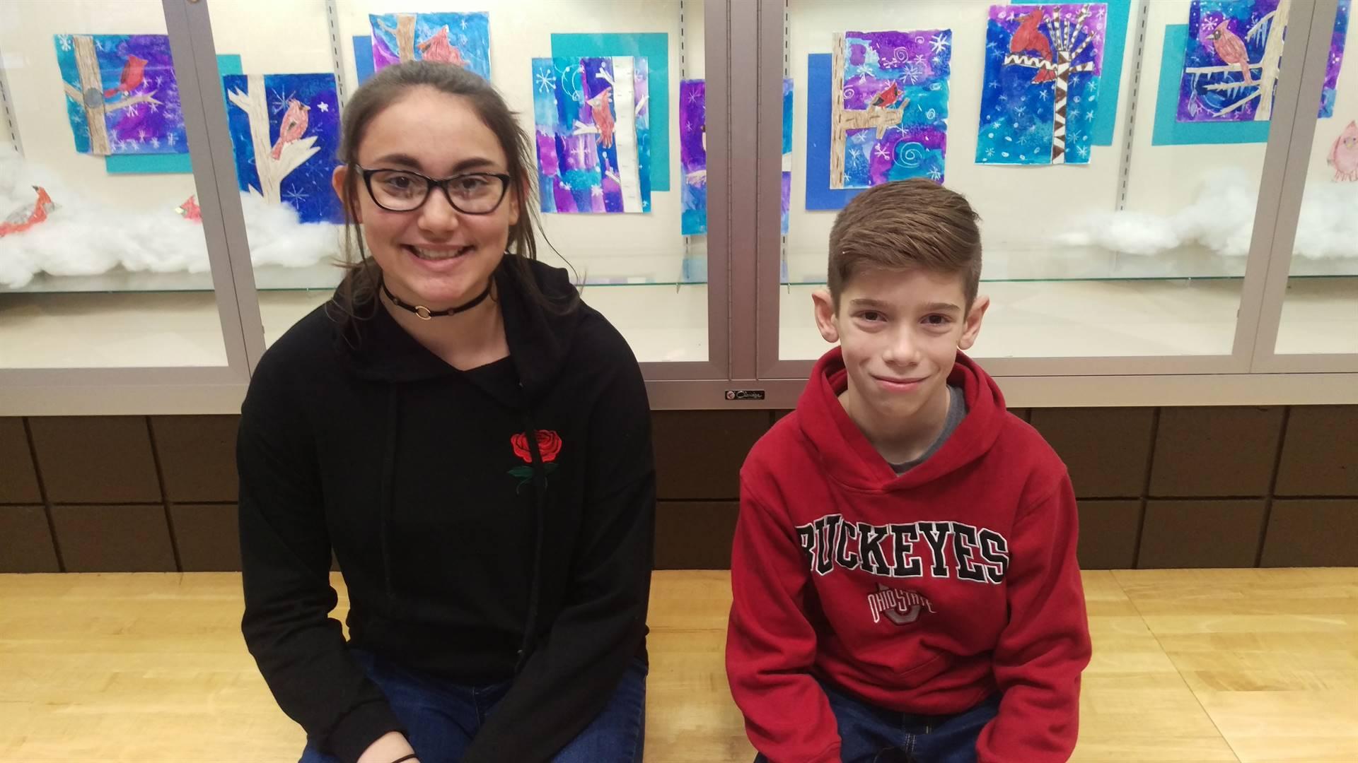 6th grade Principal's Honor Roll Students