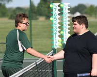 Handshake after another victory