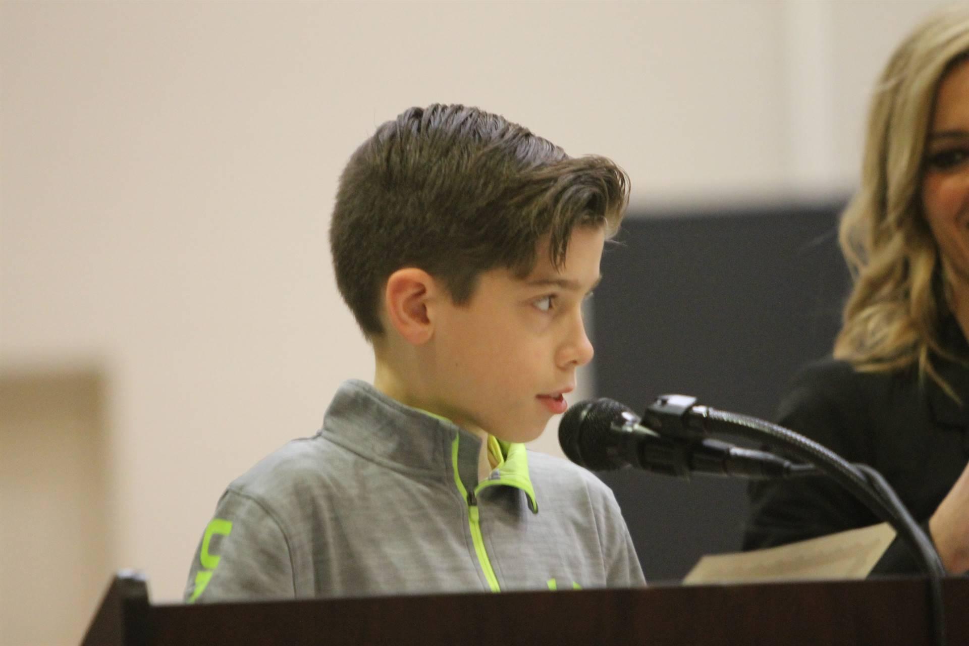 6th grade Honors Assemblyret