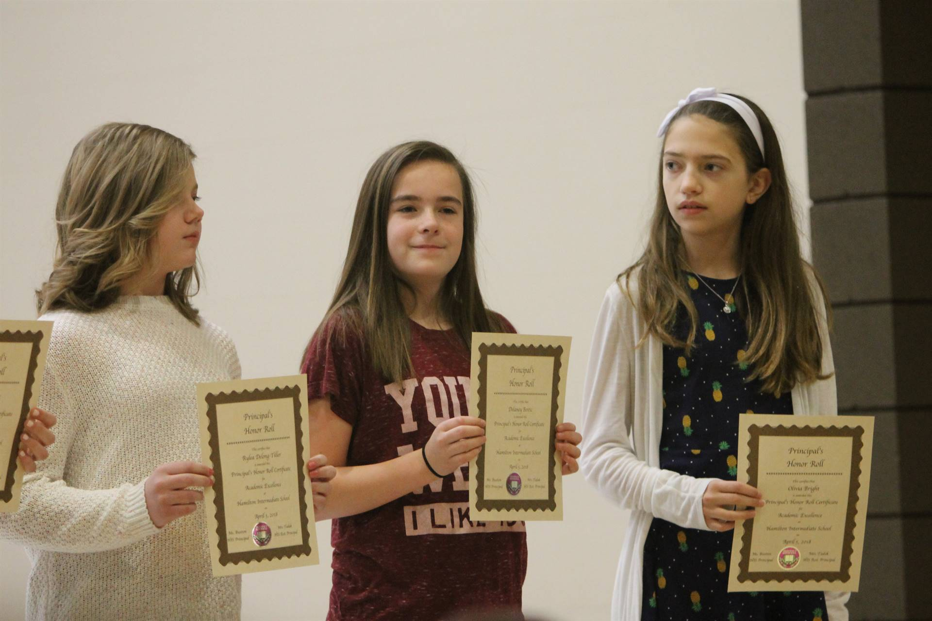 6th grade Honors Assemblyll