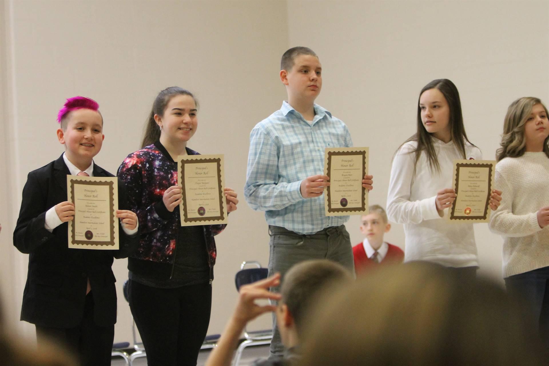 6th grade Honors Assemblykk