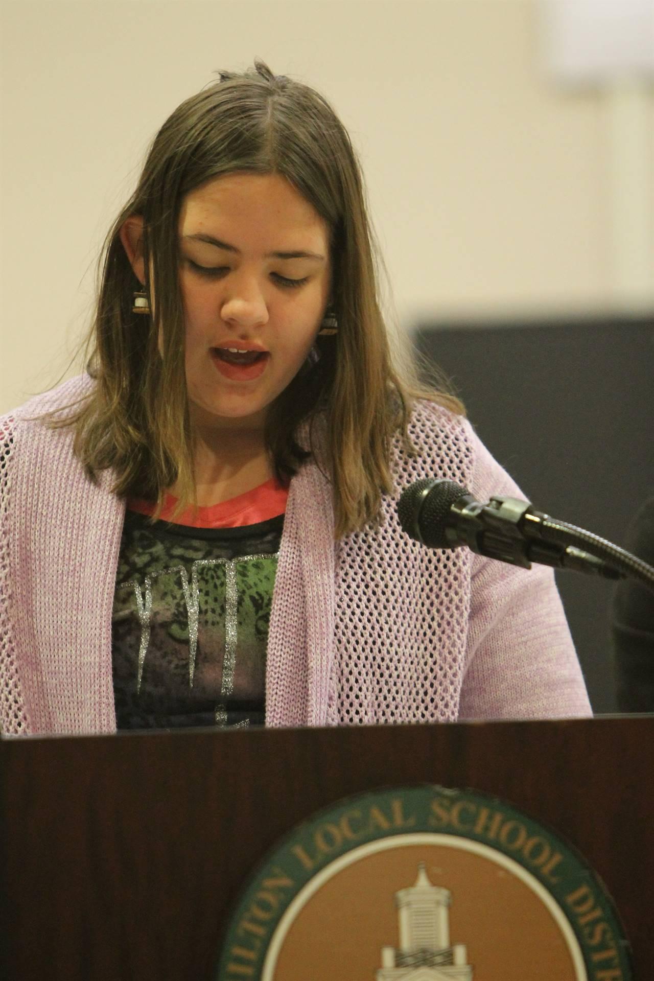 6th grade Honors Assemblygg