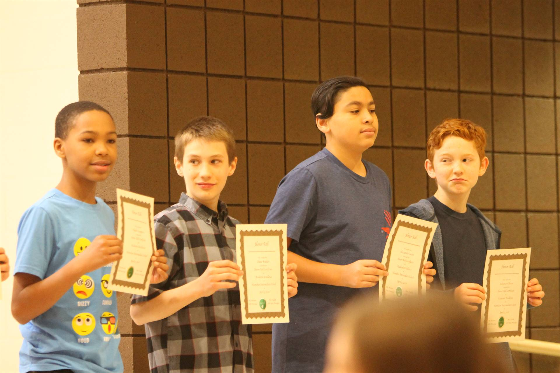 6th grade Honors Assemblyaa