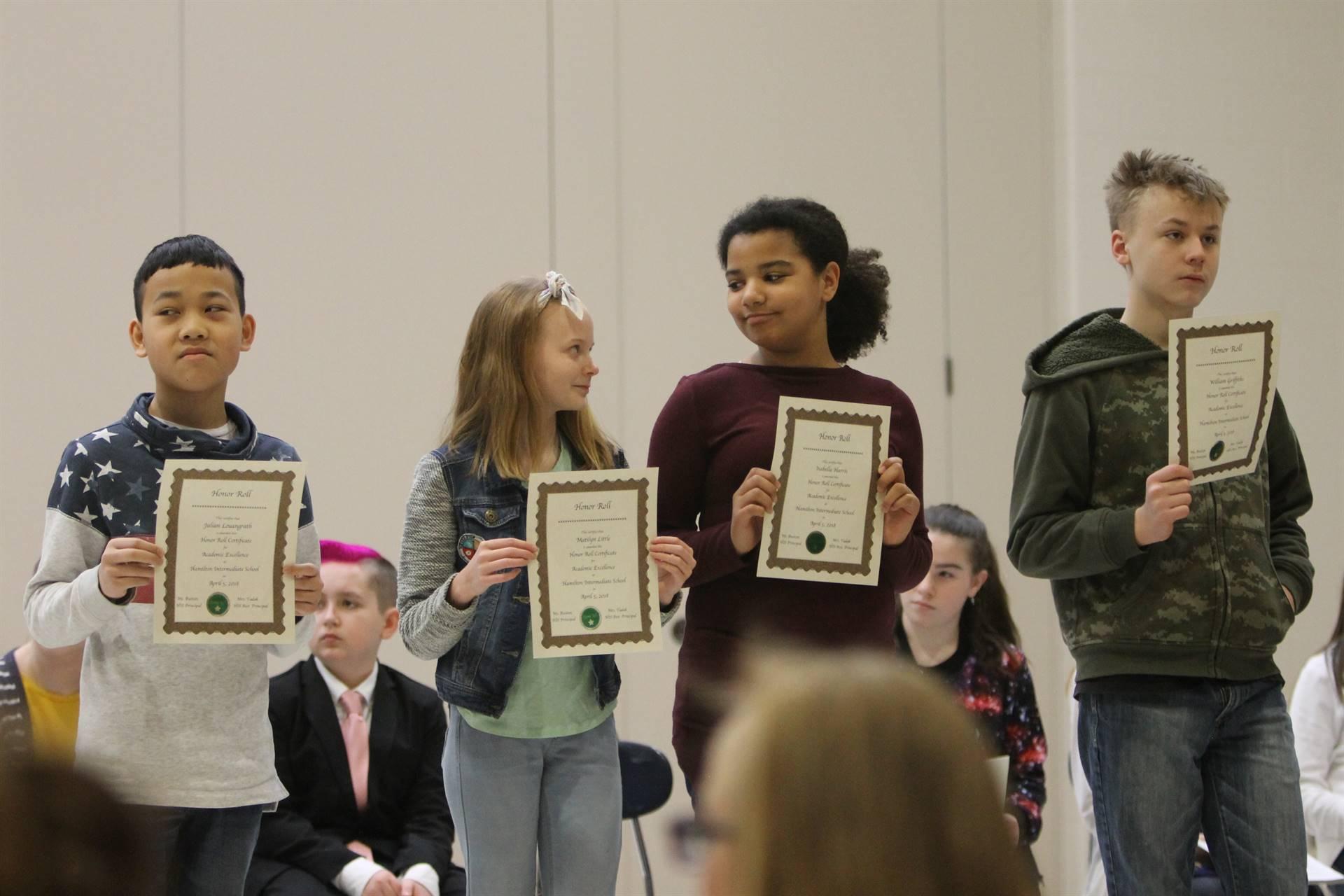 6th grade Honors Assemblyz