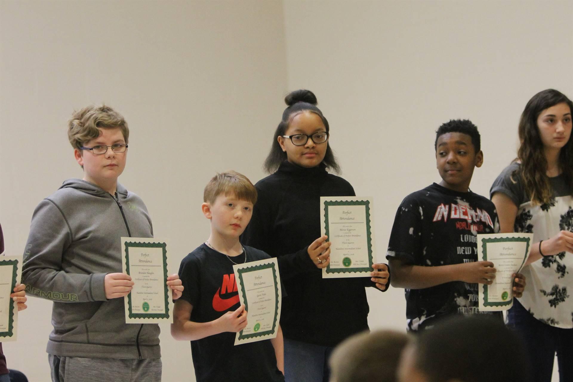 6th grade Honors Assemblya