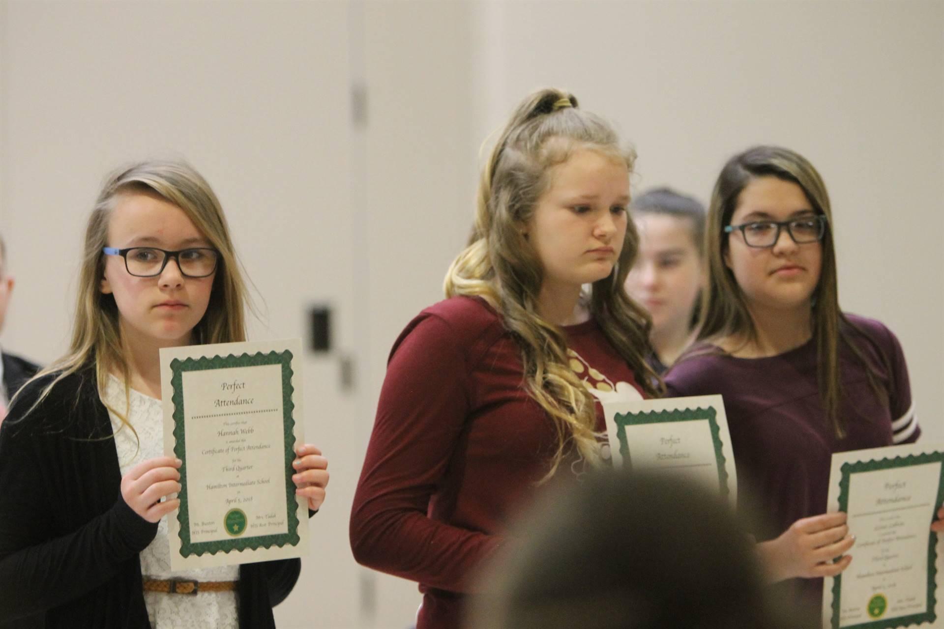6th grade Honors Assemblyp