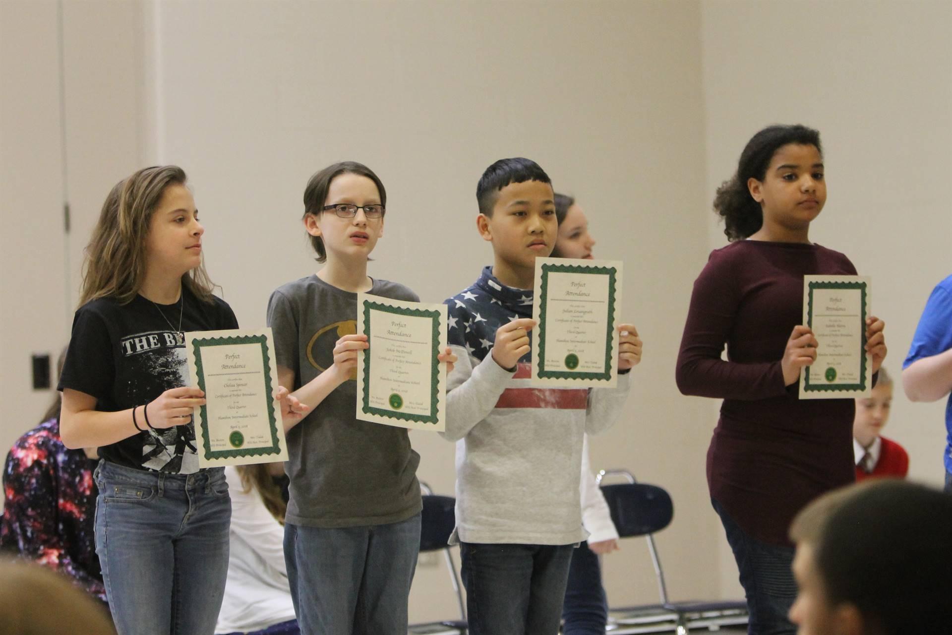 6th grade Honors Assemblyu