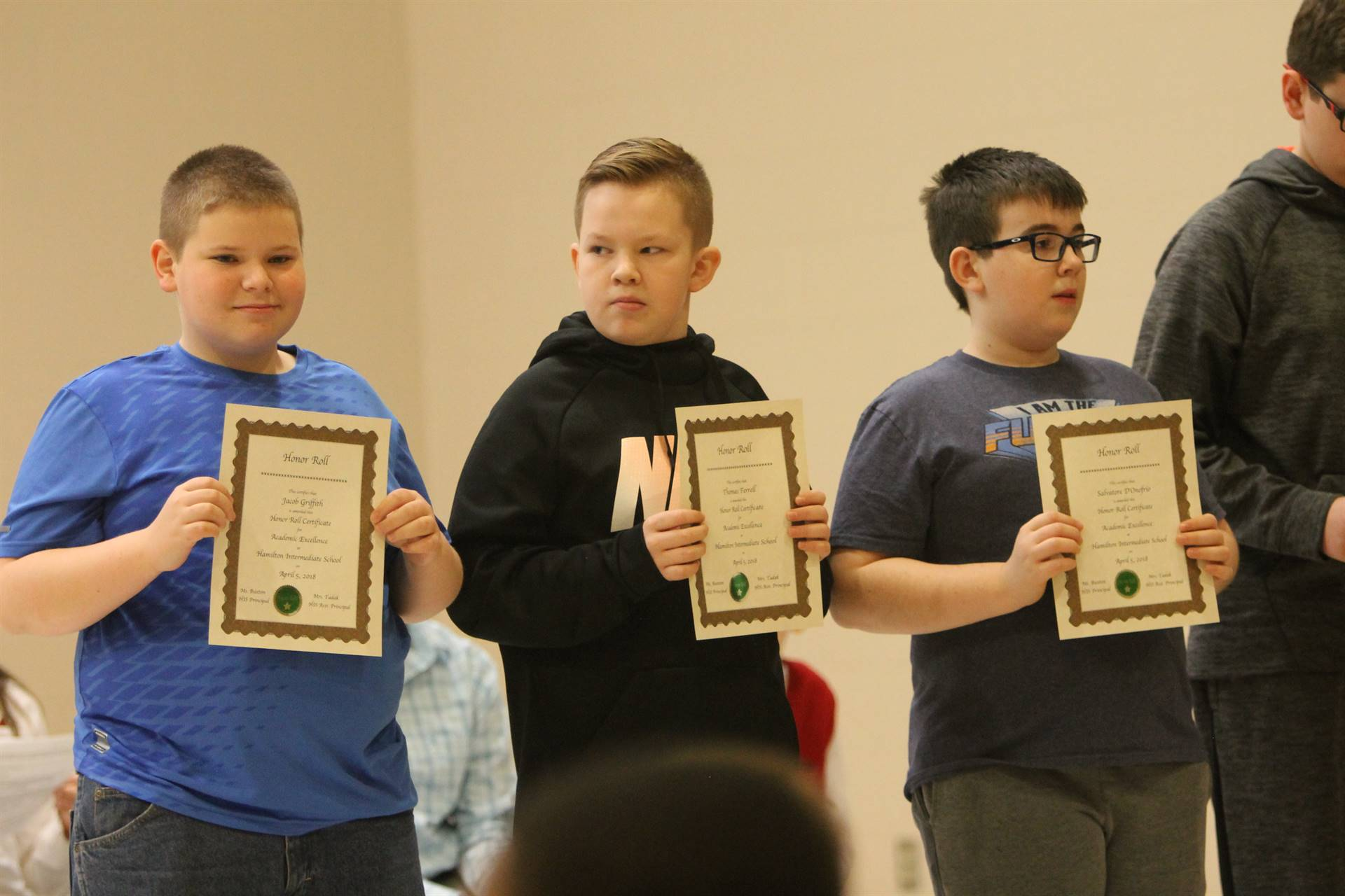 6th grade Honors Assemblyc