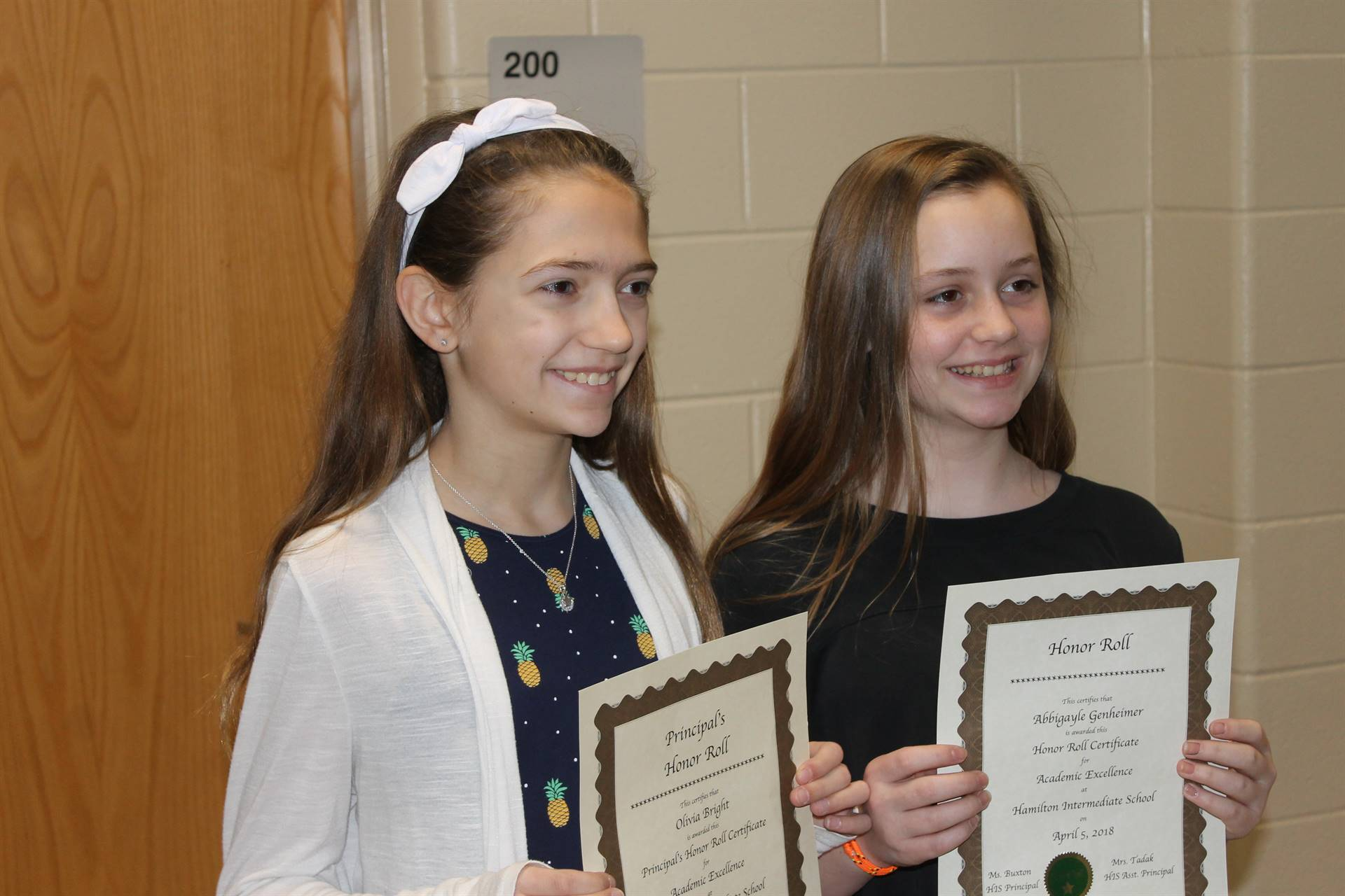 6th grade Honors Assembly2