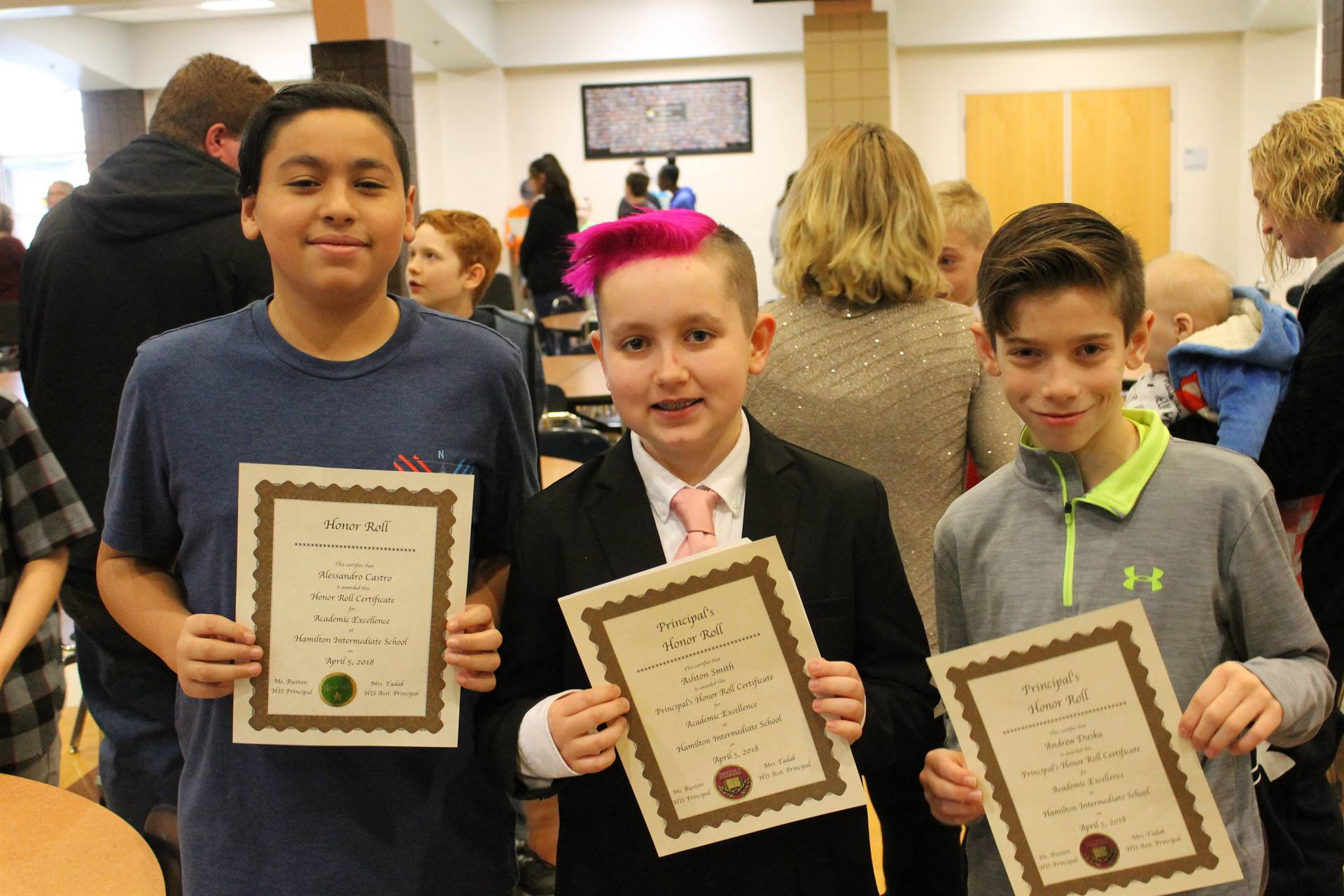 6th grade Honors Assembly6