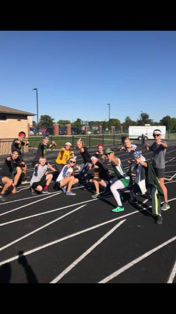 Last Workout Before District Meet-2018