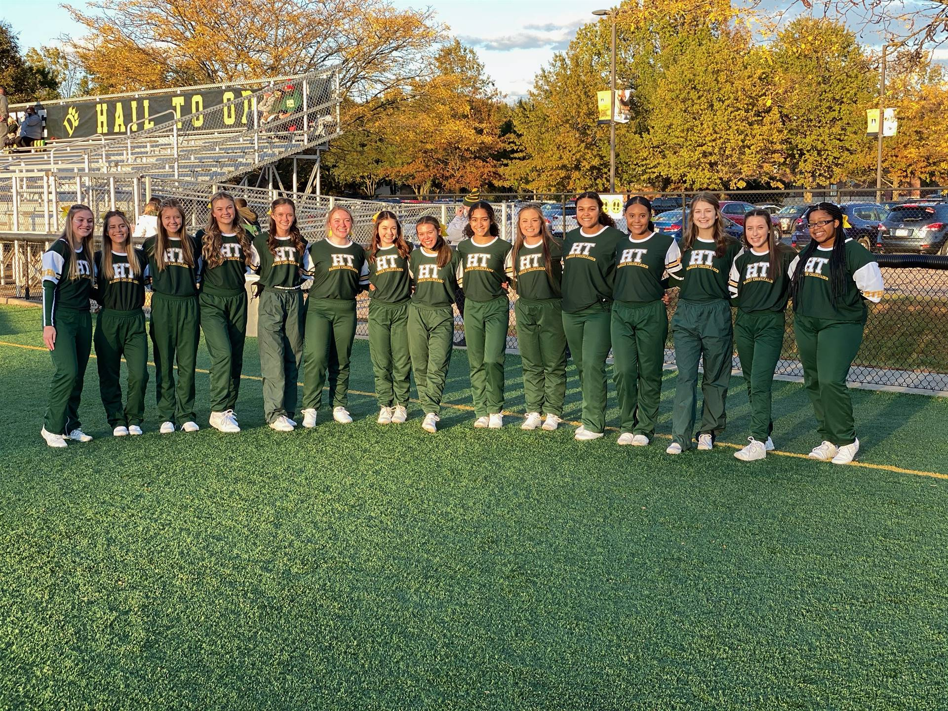 2020 Football Varsity Cheerleading
