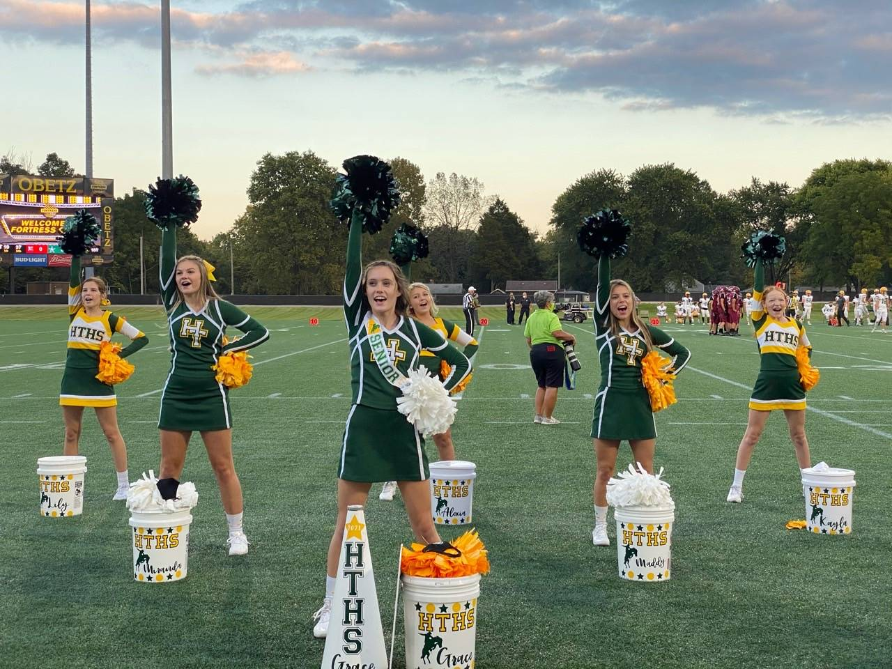 2020 Football Cheerleading