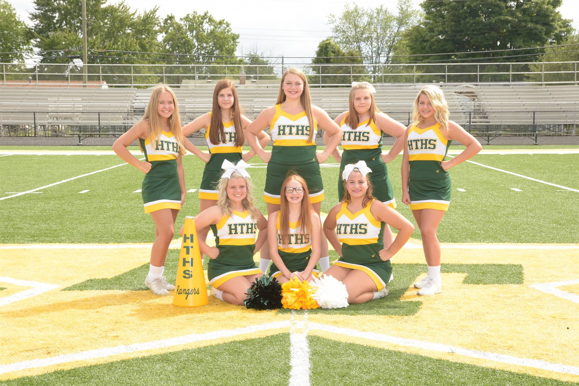 2020 Junior Varsity Cheerleading Team